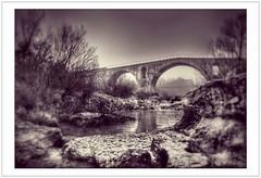 Pour passer le Calavon ... (Charlottess) Tags: nikon5300 paca janvier romain calavon luberon pont vaucluse