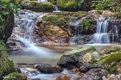 A bit of cool in a hot summer (alfvet) Tags: acqua water fresh fresco cascatelle estate torrente longexposure nikon d7200 natura nature rocce rocks