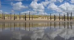 Strand und Dünenlandschaft in Petten | Beach and dune landscape in Petten (woo_73) Tags: niederlande nordholland urlaub strand petten beach meer sea dünen dune