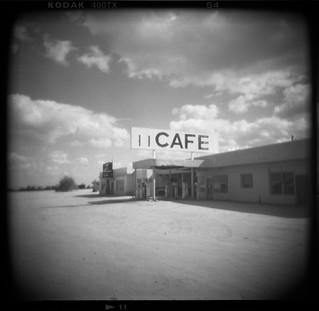 cafe. desert center, ca. 2018.