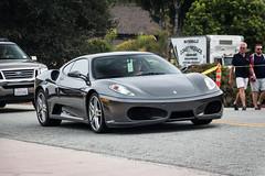 Ferrari F430 (Hunter J. G. Frim Photography) Tags: supercar monterey car week carweek ferrari f430 grigio silverstone gray v8 italian coupe ferrarif430