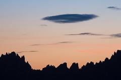 Smooth vs. sharp (Michel Couprie) Tags: europe france galibier montagne mountain morning cloud nuage crest crête sky ciel sunrise leverdesoleil pastel canon eos ef3004lis cou