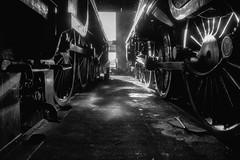 Sleeping Giants - Number 2 (photofitzp) Tags: 30777 45305 gcr kingarthurclass lms locomotives loughborough railways sr sirlamiel steam uksteam