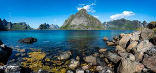 Panorama Kjerkfjorden (Norway)