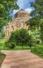 "Shish Gumbad (""glazed dome""), Lodhi Garden, New Delhi (Mukul Banerjee (www.mukulbanerjee.com)) Tags: lodigardens newdelhi heritage photography nikond750 nikon2470mmf28 history medival mukulbanerjeephotography india hdr highdynamicrange"