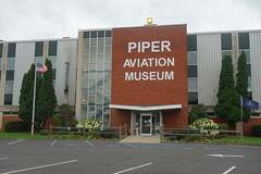 Piper Aviation Museum Entrance (YouTuber) Tags: piperaviationmuseum lockhaven pennsylvania clintoncounty lockhavenpa