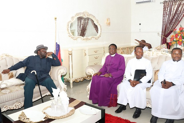 HSDickson-Condolence visit By Eastern Ijaw Anglican Community. 29th August 2018