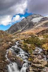 Tryfan Mountain Winter Rapids (Adrian Evans Photography) Tags: welshlandscape snowdonia landscape winter welshmountain water outdoor tryfanmountain riverside clouds ogwenvalley wales november tourist rapids waterfall uk adrianevans northwales tryfan sky welshlandmark river snow landmark ogwen nikon d850 20mm