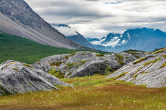 Mot Fornesbreen, Lyngen (kkorsan) Tags: lyngen fornesbreen glacier lyngenalps northernnorway norway rocks troms mountainview forholtfjellet fornesfjellet