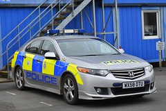 WX58 OTU (S11 AUN) Tags: wiltshire wilts police honda accord saloon area incident response panda patrol car advanced driver training pursuit driving school 999 emergency vehicle wx58otu
