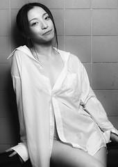 From bathroom with LUV(DSCF0259) (Tetrodotoxin) Tags: portrait female women japan fujifilm gfx50s gf110mmf2