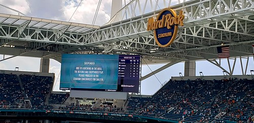 Miami Dolphins Football Suspended game