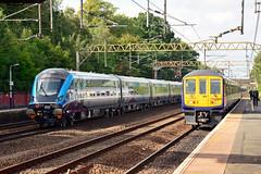12805 5Q32 319378 2K39 Heaton Chapel (British Rail 1980s and 1990s) Tags: train rail railway loco locomotive lmr londonmidlandregion mainline wcml westcoastmainline livery liveried traction caf tpe transpennineexpress transpennine mk5 mkv mk5a locohauled first diesel 47812 5q32 station lhcs ecs emptycarriagestock nova3 12805 dt drivingtrailer tp05 emu electricmultipleunit ac 319 class319 319378 arn northern arrivarailnorth new