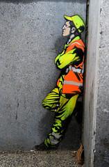 graffiti in amsterdam (wojofoto) Tags: amsterdam nederland netherland holland graffiti streetart wojofoto wolfgangjosten stencil stencilart stencils jaune