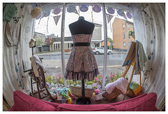 Inside Store Window (theimagebusiness) Tags: theimagebusinesscouk theimagebusiness photographersinscotland photographersinwestlothian photography commercialphotography pr justsew justsewmuchmore 57mainstreetwestcalder westlothian dressmaking sewing manufacturing sewn handmade wool knitting craft quilt spinning costume