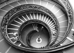 Stairs (perottooppi) Tags: rome vatican staircase bramante italy