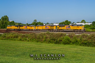 UP 9014 | EMD SD70AH | CN Shelby Subdivision