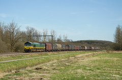 Railtraxx 266 031-4 Zichem (TreinFoto België) Tags: railtraxx gm66 class 66 266 0314 200385452 ascendos zichem lijn 35 rcal linzshuttle passau antwerpennoord linz