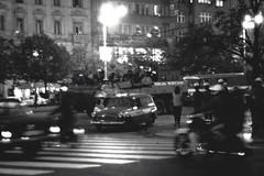 Prague - August 21, 1969 (trochford) Tags: demonstration resistance repression 1969 praguespring pražskéjaro pražskájar sovietunion warsawpact invasion history wenceslassquare václavskénáměstí prague praha prag czechoslovakia minolta srt101 rokkor mcrokkor rokkorpf 58mm f14 bw bnw blackandwhite blackwhite noiretblanc blancoynegro mono monochrome street night