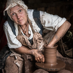The Potter (ToriAndrewsPhotography) Tags: kentwell hall potter pottery clay wheel suffolk photography andrews tori
