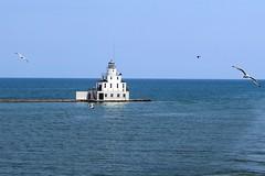 The Lighthouse At Manitowoc Wisconsin On Lake Michigan (France1978) Tags: manitowocwisconsin lighthouses lakemichigan lakes greatlakes