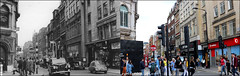 Wardour Street`1959-2018 (roll the dice) Tags: london westminster westend w1 oxfordstreet soho music sad mad vanished demolished fashion people shops shopping urban uk classic art old local history bygone retro streetfurniture arcitecture oldandnew pastandpresent hereandnow changes collection canon tourism tourists crowd busy ilford bewlay smoking guitars taxi cars cab bubblecar rathboneplace austinfx4 beardmoremk7 travel transport lights dirtyharrys telephone corner vodaphone advertising surreal pearl pipes amazing bargain sale windows