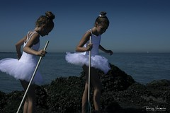 'The Hunt for Davy Jones Locker Crabs' (Thierry Vermeire) Tags: children childmodel childphotographer childhoodunplugged childportrait childhood childphotography childmodels kid kidmodels kidsmodel fineart fineartschildphotography fineartkids fineartchildphotography girls ballerina sea wavebreaker crab