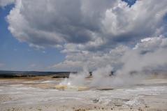 Clepsydra Geyser (Clinton Steeds) Tags: wyoming yellowstone yellowstonenationalpark volcanic geothermal geyser lowerbasin lowergeyserbasin clepsydrageyser