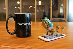 Moody Groot (Ochre Jelly) Tags: lego moc afol groot guardians galaxy marvel chibi coffee mug wework office