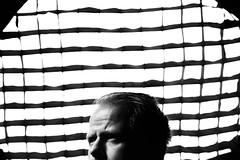 * (Johan Gustavsson) Tags: me self bw blackandwhite svartvit portrait selfportrait självporträtt själv profoto softgrid reflector indoors face hair johangustavssson
