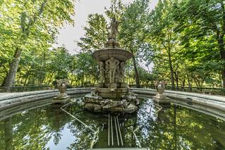 Narcissus fountain / Fuente de Narciso