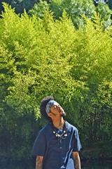 Kwang (BrendonQ) Tags: kwangkwoo bostic fashion nature strength wisdom music blue green bamboo