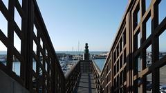Hirtshals Hafen Treppenmonument (achatphoenix) Tags: hirtshals vendsyssel nordsee northsea nordjütland vesterhavet dänemark danmark denmark fährhafen fishingvillage fischerort fischereihafen
