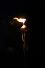 Tiki Torch Flame and Smoke (RL1806) Tags: tiki torch flame fire