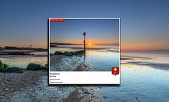 BBC Weather Watchers September 13 (nicklucas2) Tags: seascape beach isleofwight solent sea sand seaside seagull lowtide avonbeach mudeford dorset sun sunrise mist