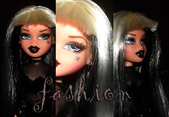 Cloe💋 💍 💎 (Fashion2000ever) Tags: bratz bratzdoll bratzdolls fashion fashiondoll fashiondolls cloe mga mgadoll mgadolls black white doll dolls pasion pasionforfashion
