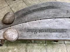 Music 245/365 (4) (♔ Georgie R) Tags: music bench bishopottercampus chichesteruniversity sussex werehere wah hereio