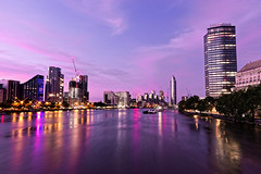 River at Dawn (Geoff Henson) Tags: intelligence river water daybreak dawn sunrise reflection tower building architecture sky cloud crane lights thames london