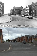 Beaufort Street, Toxteth, 1968 and 2018 (Keithjones84) Tags: liverpool oldliverpool rephotography thenandnow