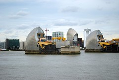 Thames Barrier Number 7 (zawtowers) Tags: jubilee greenway section 6 six saturday 8th september 2018 cloudy dry woolwichfoottunneltogreenwich amble stroll walking walk exploring london river thames path following urban exploration barrier protection flooding landmark iconic number 7