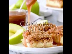 these Caramel Apple Cheesecake Bars are the perfect fall dessert. (masinud) Tags: these caramel apple cheesecake bars perfect fall dessert