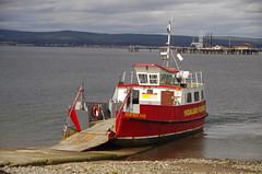 Ready to board (Sundornvic) Tags: sea seaside scotland cromarty firth boats sail shore sky clouds crossing pentaxart pentax k50