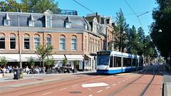Langs de lijn: Terrasje pakken (Peter ( phonepics only) Eijkman) Tags: amsterdam city combino gvb tram transport trams tramtracks trolley rail rails strassenbahn streetcars nederland netherlands nederlandse noordholland holland