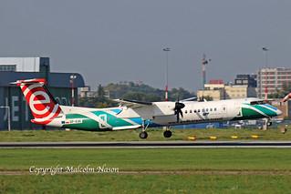 DHC8Q-402 SP-EQE LOT special colours (EUROLOT tail)