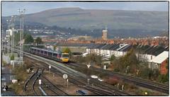 Headed for Newport Station (Welsh Gold) Tags: 1b10 london paddington swansea gwr hst train 43185 power car east usk junction somerton road newport
