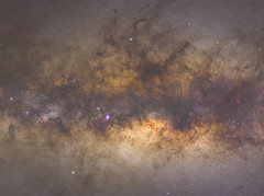 Sagittarius Region Gigapixel Mosaic (plant.nerd) Tags: milkyway galaxy astrophotography sony a7r gigapixel night nebulae dust lanes stars colours sky deep