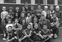 Class photo (theirhistory) Tags: boy children kid girl school class form pupils