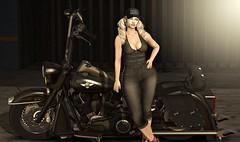 ★Optmus Race: OR HD1000 FATBOY DELUXE RIDER★ (klaris Bella) Tags: ★optmus race or hd1000 fatboy deluxe rider★