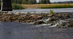 Strömsholm (Yvonne L Sweden) Tags: stone sweden sten strömsholm bridge water
