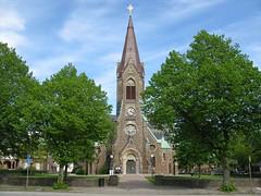 Falkenbergs kyrka (church) 2009 (biketommy999) Tags: falkenberg halland sverige sweden biketommy biketommy999 2009 kyrka church